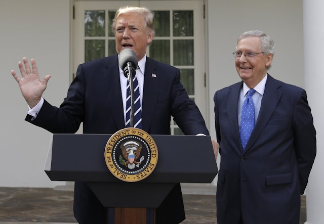 Trump, McConnell we're friends