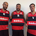 Trio de ouro do Fla Basquete