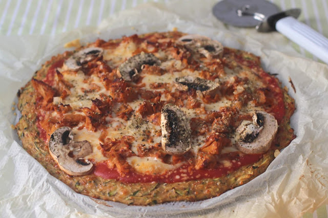 Pizza Low Carb Veggie Con Heura
