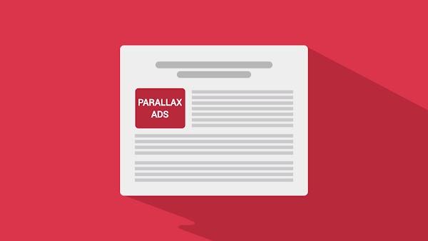 Cara Membuat Iklan Parallax Adsense di Blog