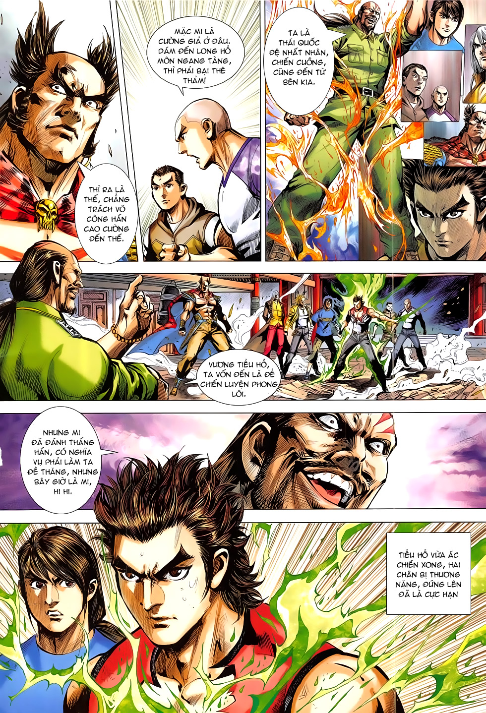 Đông Phương Chân Long chap 66 - Trang 2