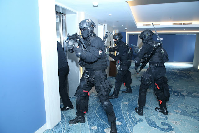Panglima TNI Tinjau Latihan Penanggulangan Terorisme