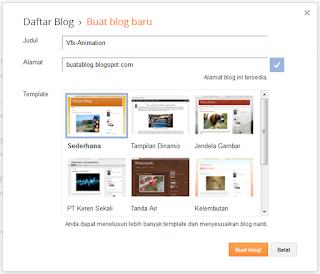 Cara Membuat Blog Pribadi dengan Mudah di Blogger