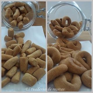 Picos y rosquillas de pan