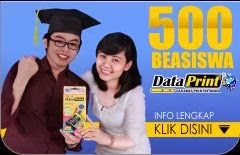 Beasiswa DataPrint Tahun 2013