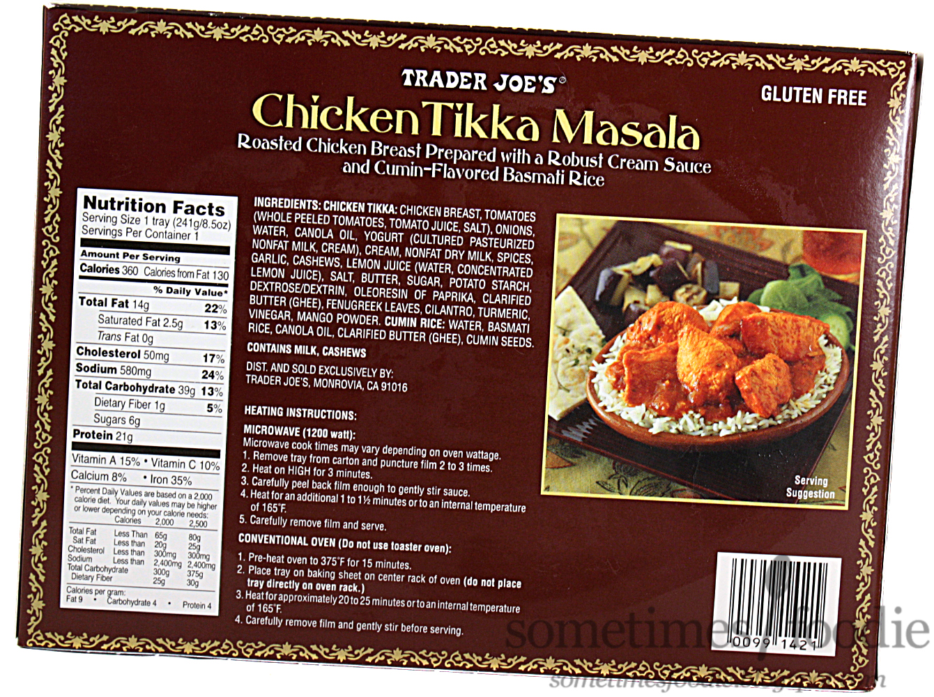 Sometimes Foodie Trader Joe S Chicken Tikka Masala