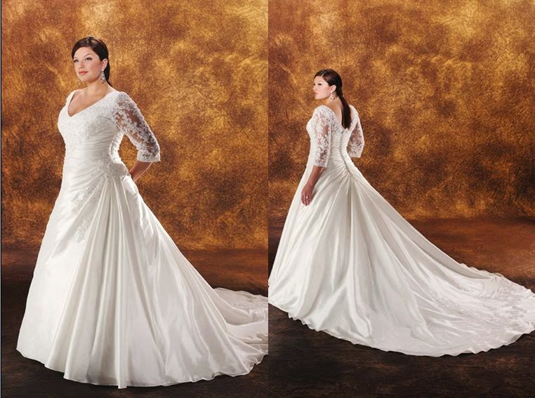 Plus Size Wedding Dress Or Plus Size Wedding Gown