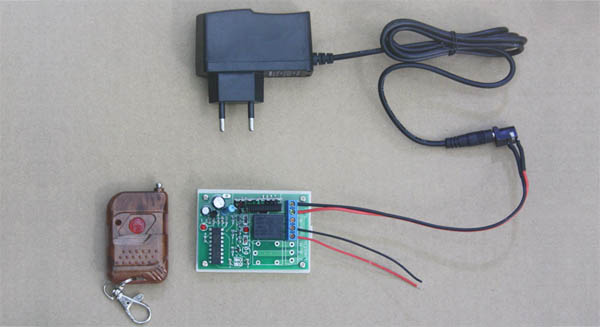 Remote Control Momentary Switch PC Computer On And Off | RFcontrolsystem