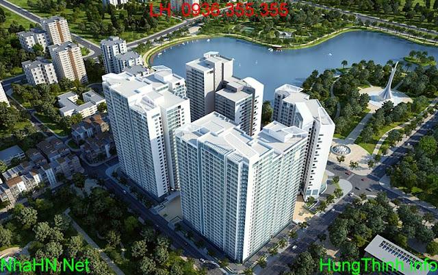 Bán Chung Cư Mandarin Garden Căn Duplex