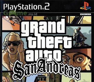 Kumpulan Kode Password Game GTA San Andreas untuk PS2 Lengkap