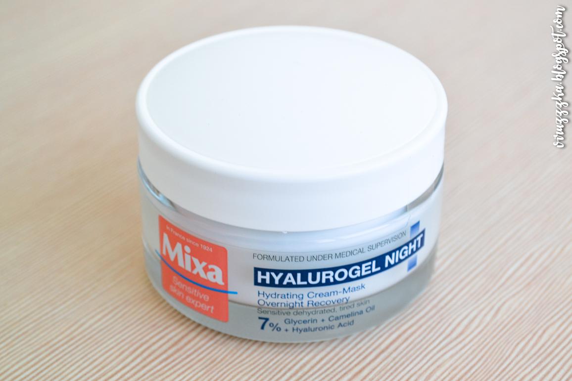 Mixa Hyalurogel Light Gel-Cream & Night Hydrating Cream-Mask Set Review