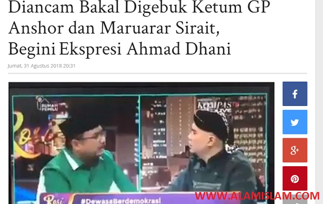 Sejarah cebong, radikalisme dan persekusi aksi #2019gantipresiden serta ancaman penggebukan Ahmad Dhani di kompas TV.