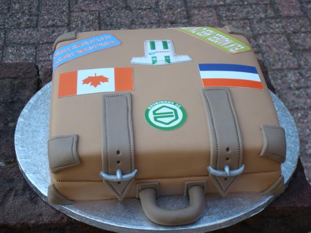 taart koffer Allianties my cake: Koffer Taart taart koffer