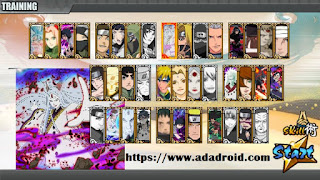 Download Naruto Senki Mod Storm 4 v5 by Tidak Apk