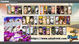 Download Naruto Senki Mod Storm 4 v5 by Tidak Apk