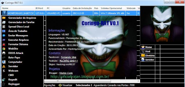 Coringa-RAT v0.3