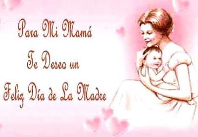 Ilustración por el Día de la Madre de felicitación