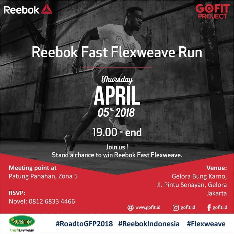 Reebok Fast Flexweave Run • 2018