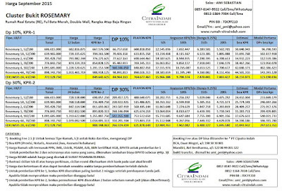 harga-rosemary-citra-indah-september-2015