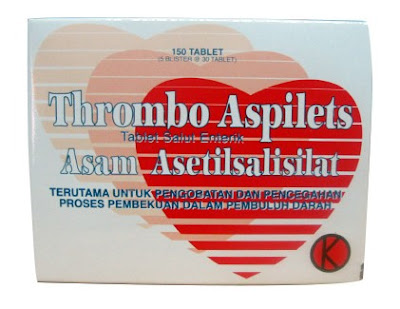 Thrombo Aspilet - Manfaat, Dosis, Efek Samping dan Harga