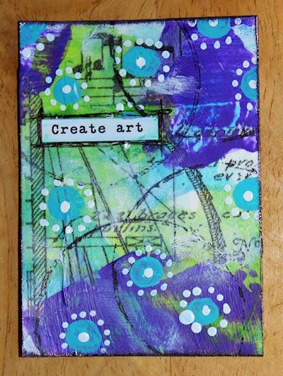 Create Art by Tori Beveridge 2014