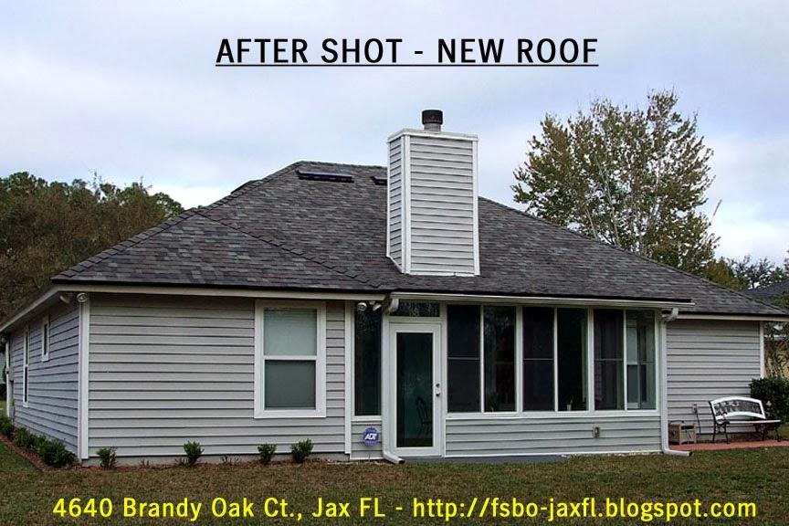 4640 Brandy Oak Court New Roof - Back