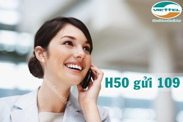 Cách đăng ký gói cước H50 Viettel