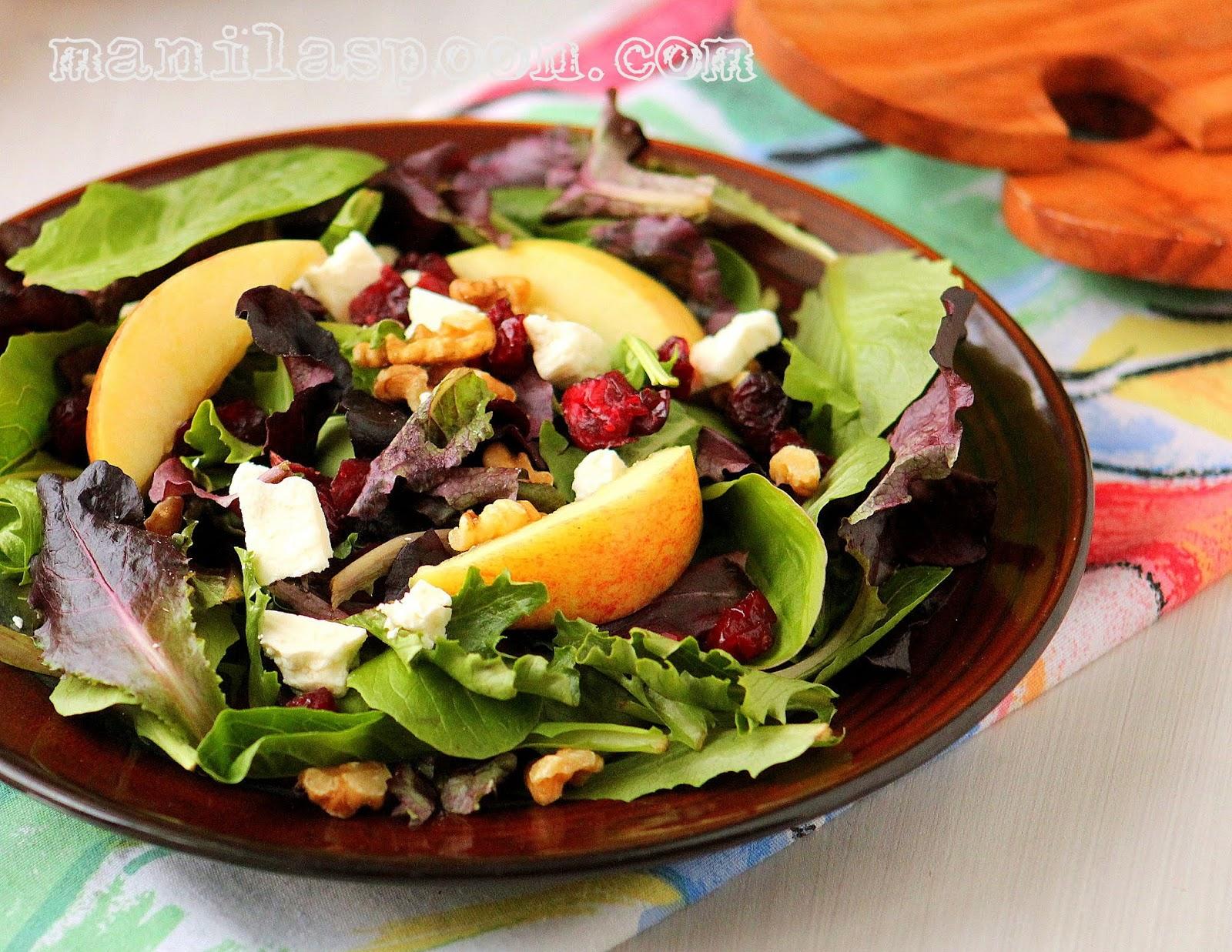 Sweet-Tart Apple Walnut Salad