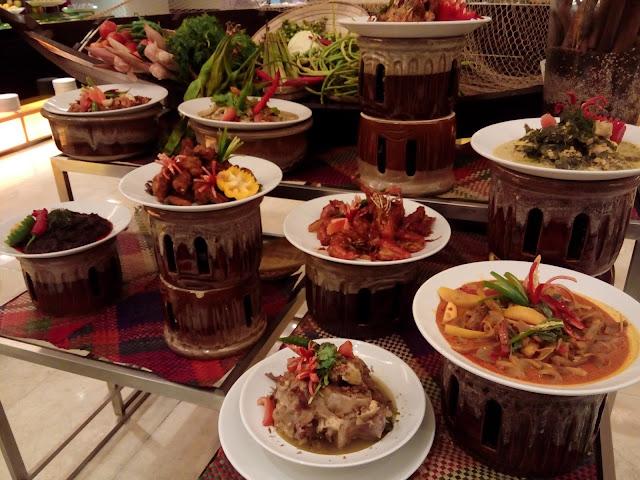 Menu masakan kampung di Concored Kuala Lumpur