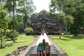 Angkor Thom, templo de Baphuon.