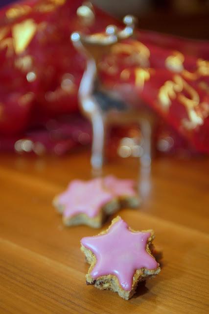 Alkoholfreie Glühweinsterne | Backen | Weihnachten | Rezept