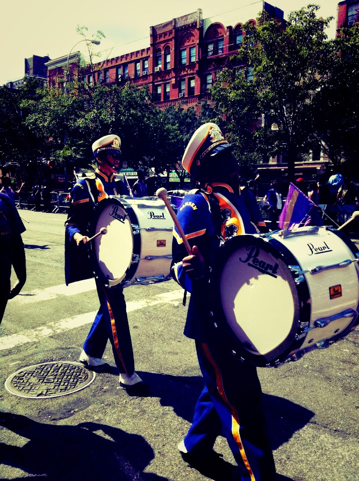 harlem parade high school band