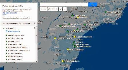 Resultado de imagem para PELLETS MAP BRASIL 2016