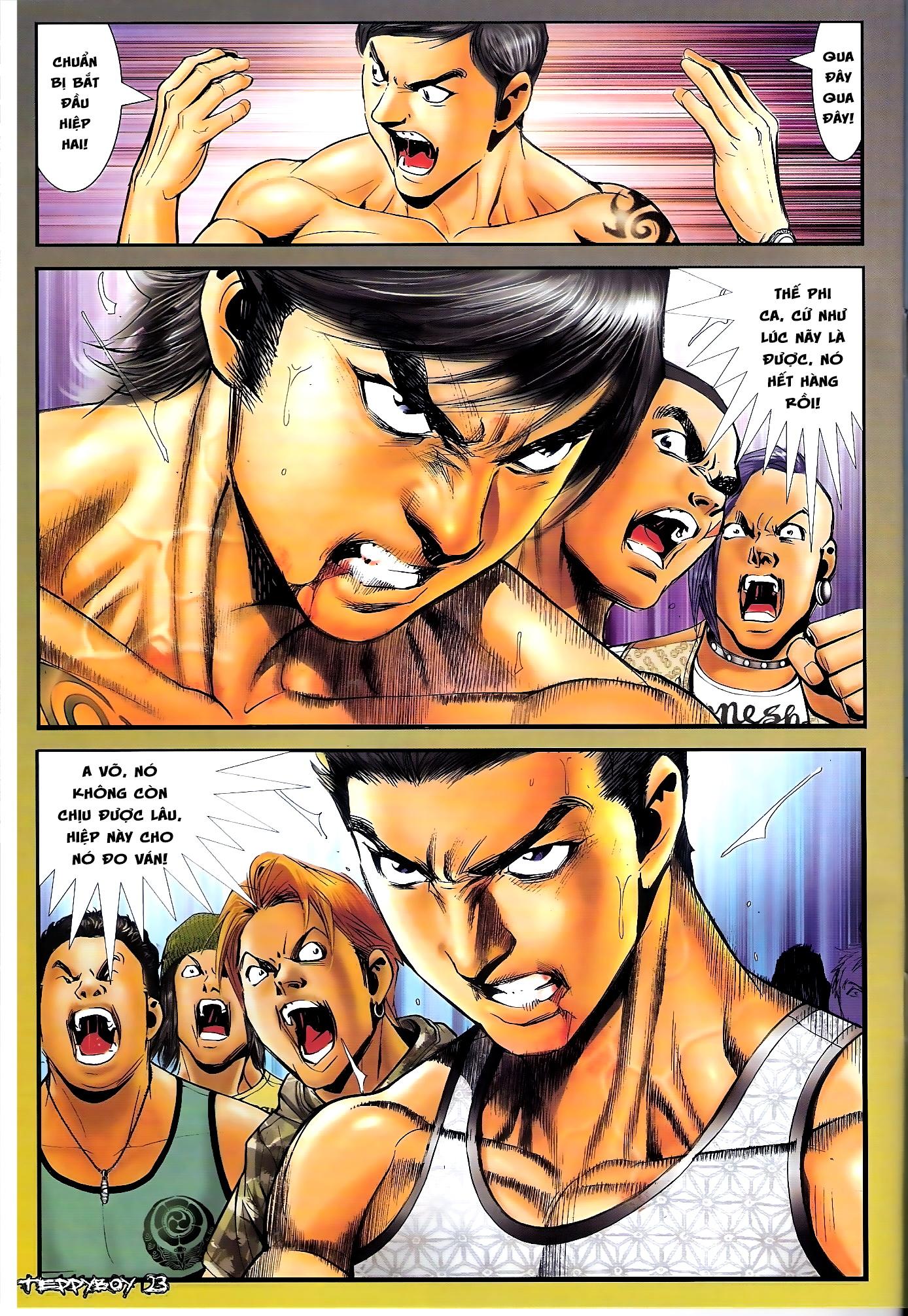 Người Trong Giang Hồ - Chapter 1307: Vinh Nhục Nhất Chiến 2 - Pic 20