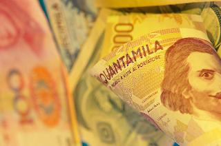 Koersnotering vreemde valuta