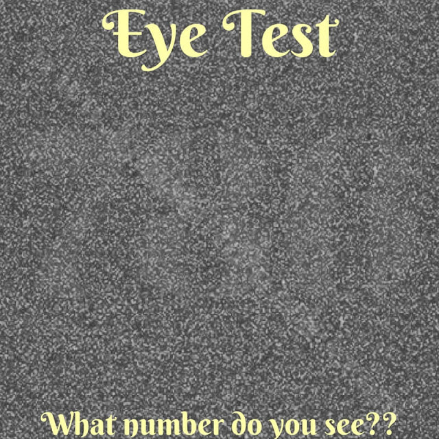 Eye Test Riddle to read hidden number