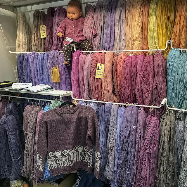 garn, yarn, vikangarn