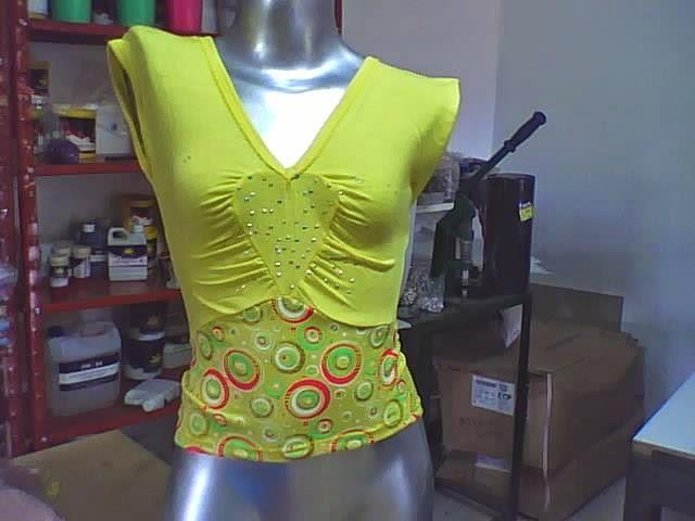 moda de blusa escote corazon fruncido corte imperio