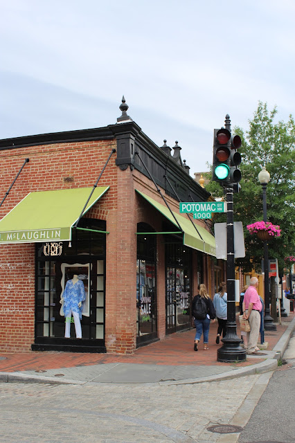 georgetown dc washington cute streets store