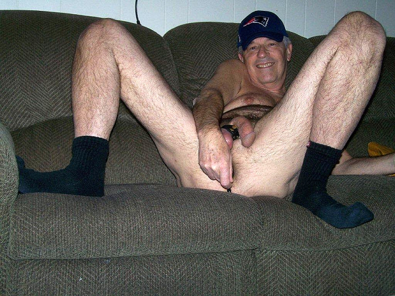 Naked Gay Grandpa 25