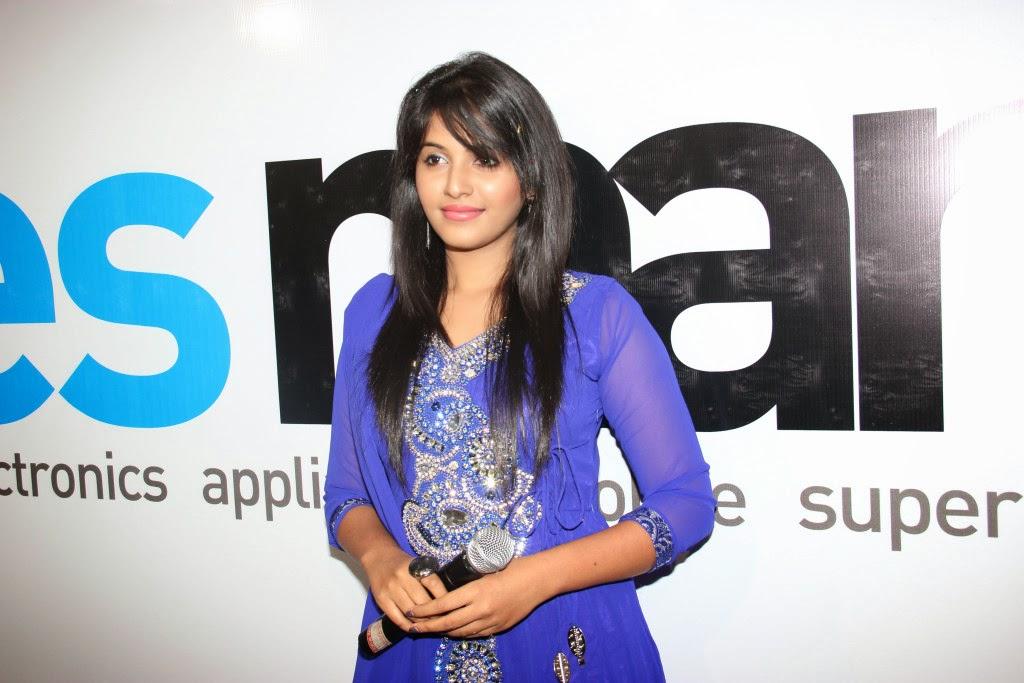 Telugu Actress Jyothi In Blue Salwar: Anjali HD Blue Salwar Kameez Photos