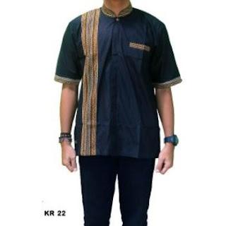 jual baju koko motif batik