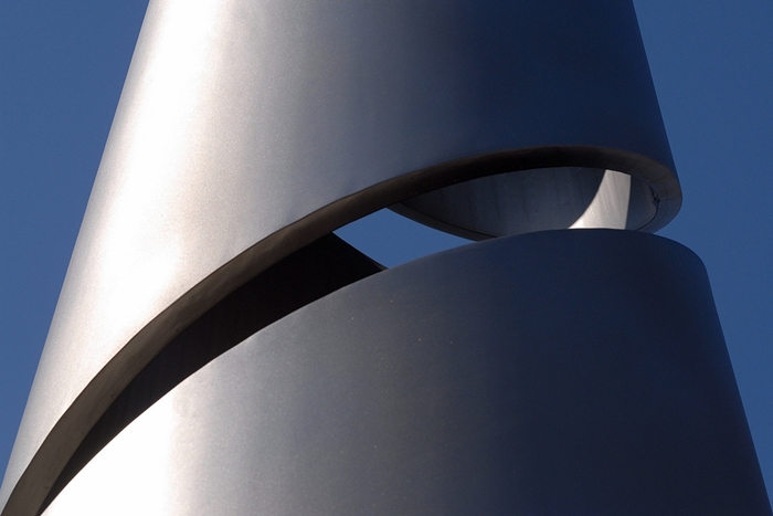 Metal sculpture - Werner Schnell