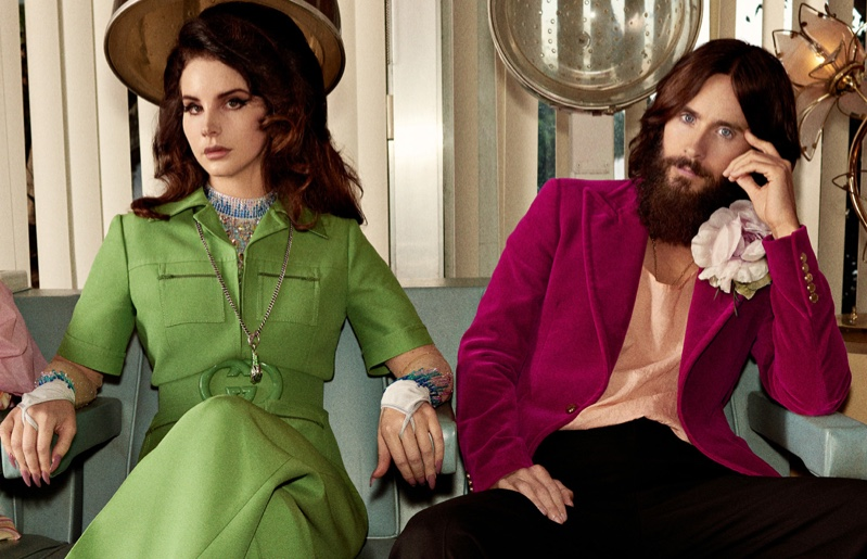 Gucci Forever Guilty Campaign featuring Lana Del Rey and Jared Leto