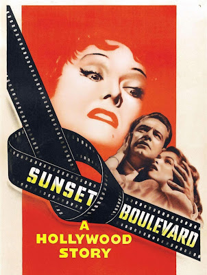 Poster Of Hollywood Film Sunset Blvd. (1950) In 300MB Compressed Size PC Movie Free Download At worldfree4u.com