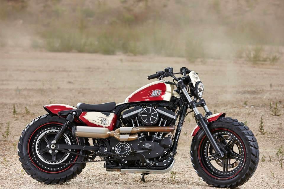 Racing Caf U00e8  Rick S Sportster Project By Rick U0026 39 S Motorcycles