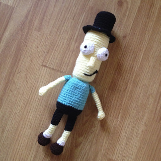 Amigurumi Rick And Morty : 2000 Free Amigurumi Patterns: Mr. PX Plush from Rick and Morty