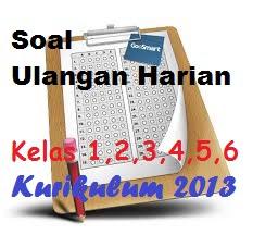 Soal Ulangan Harian Kelas 2 Semester 1 Kurikulum 2013 Tema 1-4