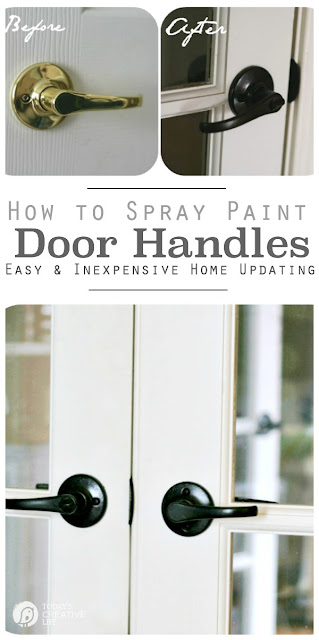How to Paint Door Handles & Hardware