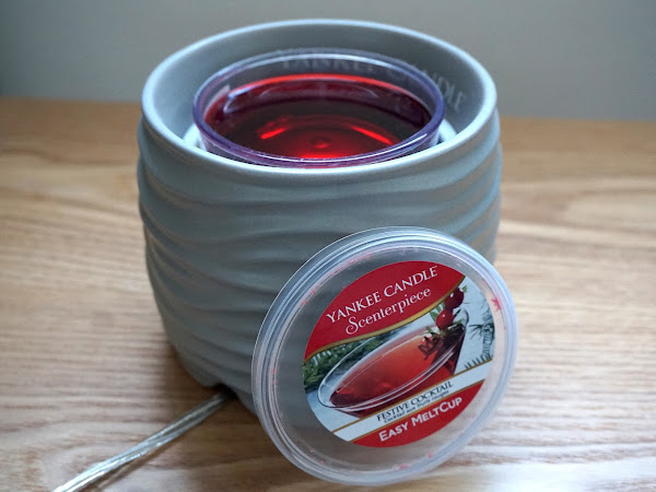 Christmas Scents with Yankee Candle Scenterpiece